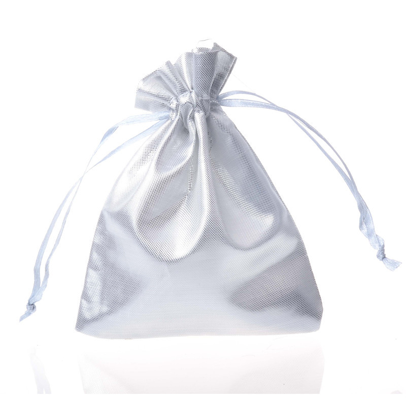 100 Pcs Lot Organza Pouches Christmas Wedding Party Favour Gifts Candy Bags Jewelry Packing Bags Pouches in Jewelry Packaging Display from Jewelry Accessories