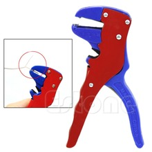 OOTDTY Automatic Self Cord Cable Crimper Stripping Cutter Adjusting Wire Stripper Tool