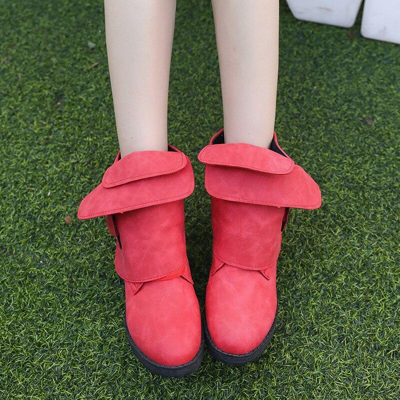 Mujer 1 Estrenar 3 Más A 8 Zapatos Botas Mujeres De 7 2 43 Invierno 6 5 Ocio 35 Occidental 4 Casuales Tamaño Hebillas Z8qrdwCW8