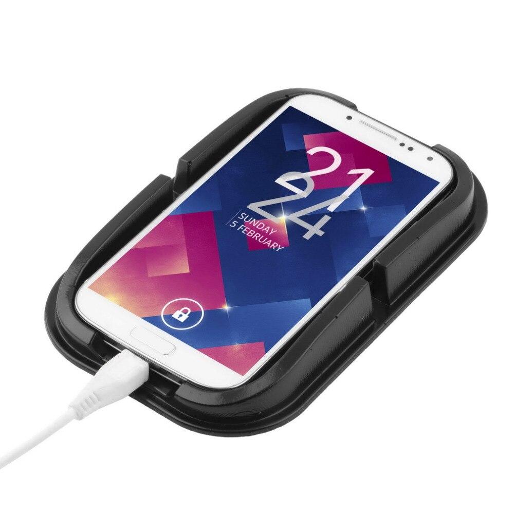 car Anti Slip pad Rubber Mobile Sticky stick Dashboard Phone Shelf ...