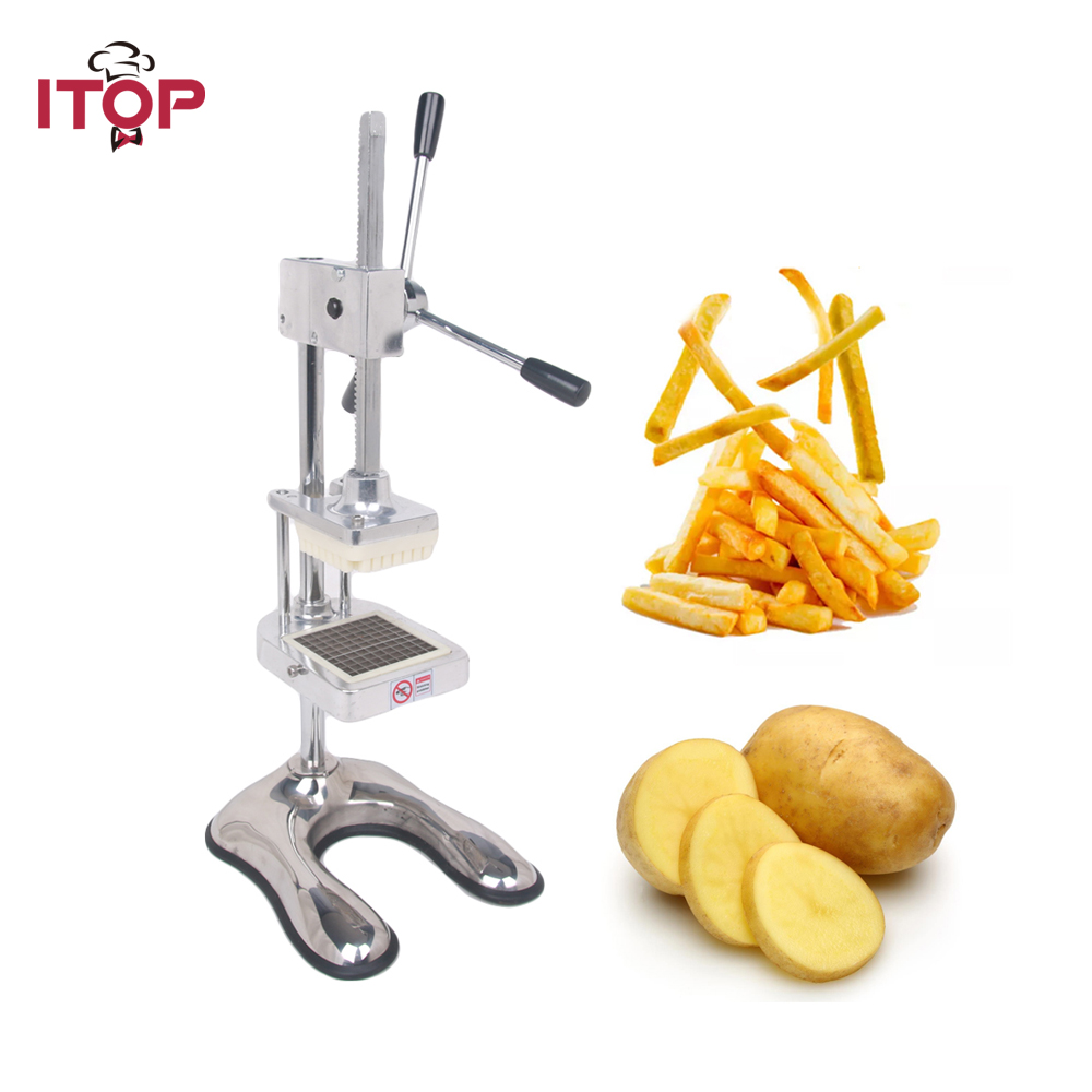 ITOP manual 3 blades fruit apple Vegetable Slicer Commercial Kitchen potato chip press machine French Fry Cutter french fry potato chip cut cutter vegetable fruit slicer manual kitchen equipment commercial machine