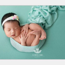 Youngsters's pictures props blankets four-sided elastic blankets 118cm*150cm studio New child photo-taking blankets