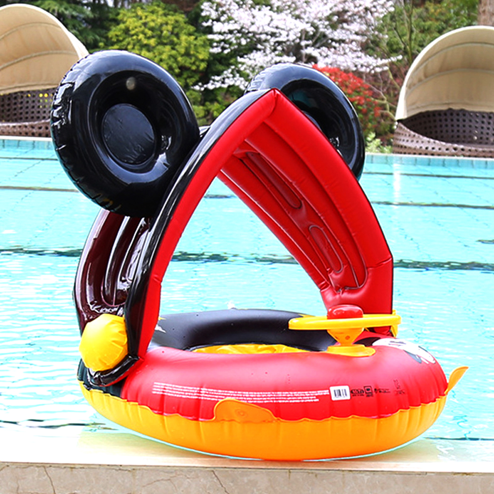Inflatable Swimming Kids Pool Float Toys Swimming Ring Baby Inflatable Pool Float  Ring Kids Pool Toy Float Thick