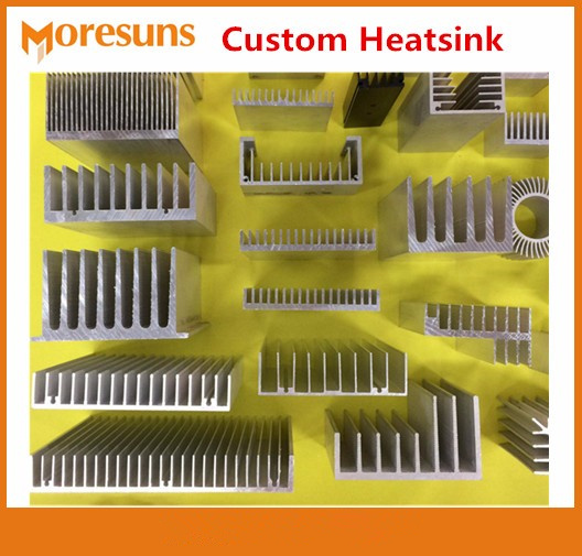 Professional Custom Make All Kinds of Profiles Radiator for LED Power supply Memory Chip IC CPU GPU VGA RAM PCB Custom Heatsink custom 100