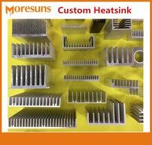Professional Custom Make All Kinds of Profiles Radiator for LED Power supply Memory Chip IC CPU GPU VGA RAM PCB Custom Heatsink