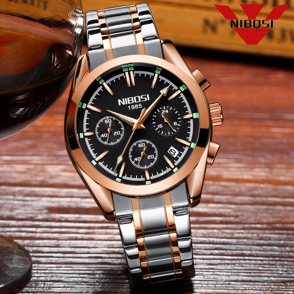 Image 3 - NIBOSI Relogio Masculino Saat Men Watches Top Brand Luxury Fashion Business Quartz Watch Men Sport Metal Waterproof Wristwatcheswristwatch brandwristwatch waterproofwristwatch mens -