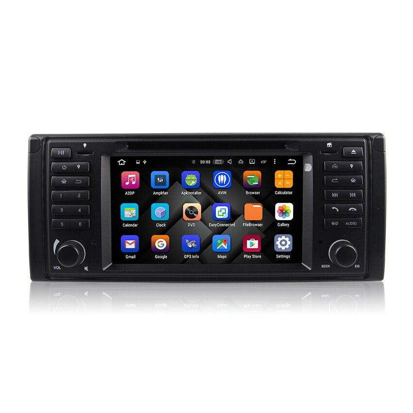 Android 6.0 Système D'exploitation Construit Dans 32 GB Inand 2G RAM Voiture lecteur multimédia pour BMW Série 5 E39/BMW X5 E53/BMW M5 DVD GPS