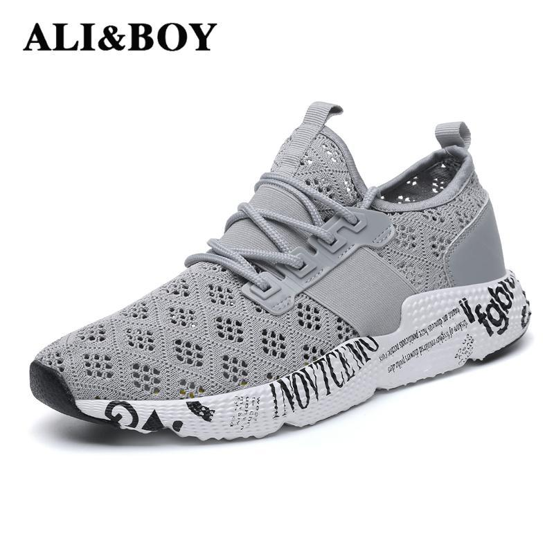 Outdoor Men's Running Shoes 2018 Exercise Sneakers Breathable Brand Outdoor Comfort Size 39-46 Sport Shoes Zapatos Para Correr