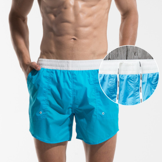 DESMIIT Men Beach Shorts Swimwear Bermuda Surf Board Shorts Swimming Short Quick Dry Thin Style Man Boardshort Swim Beachwear