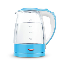 Electric kettle Glass stainless steel household automatic power failure 2L large capacity Safety Auto-Off Function