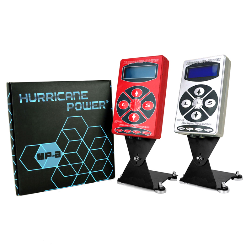 New Hurricane Power Supply Two Colors HP-2 Tattoo Power Supply For Permanent Makeup Machine For Tattoo Supplies