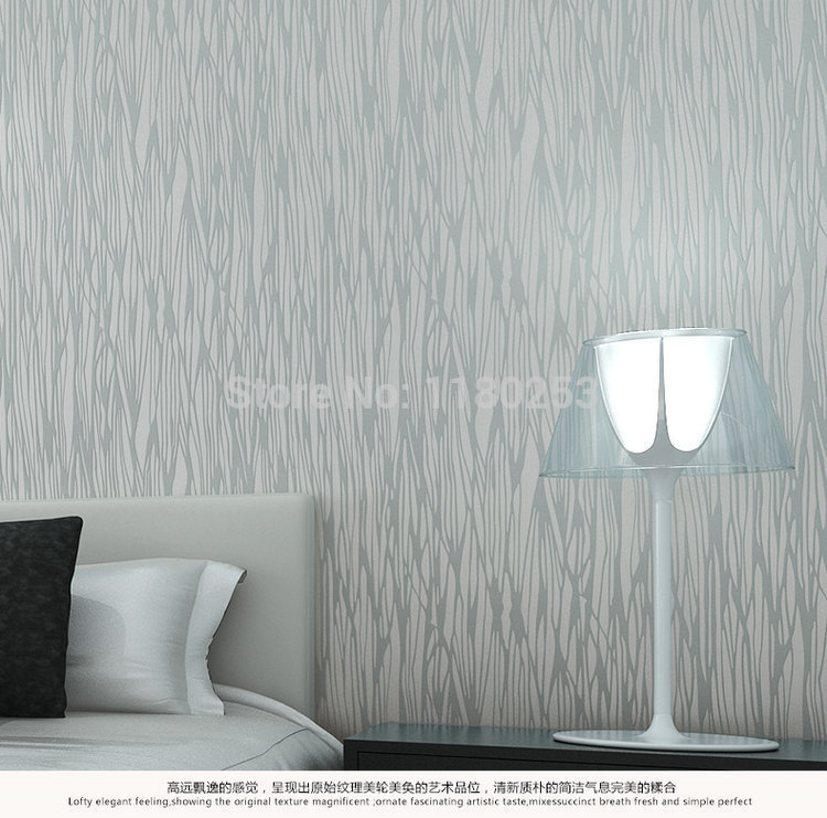 decoration silver embossed striped Wallpaper Roll Non Woven Wall Paper decor for Living room papel de parede 3d 53*1000cm