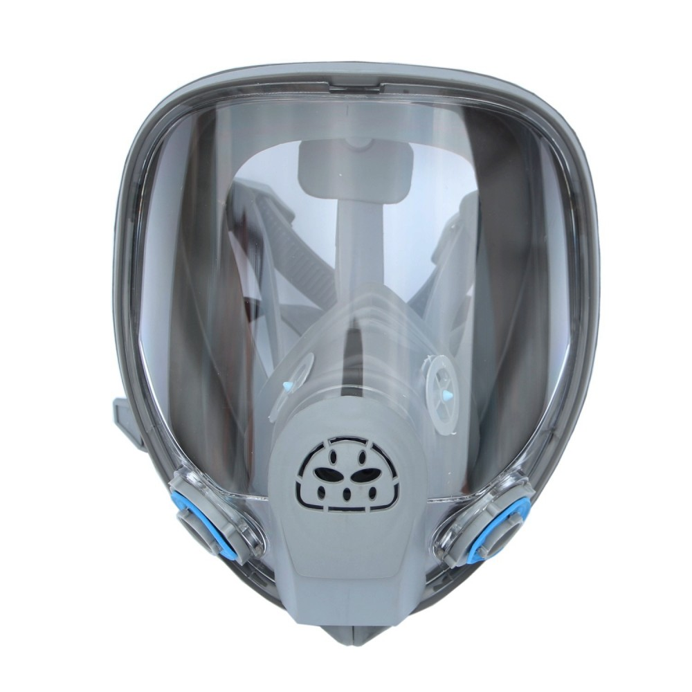 For 6800 Silicone Gas Mask Full Facepiece Respirator Painting Blue Full Face Spraying Mask Anti Dust Back To Search Resultshome & Garden