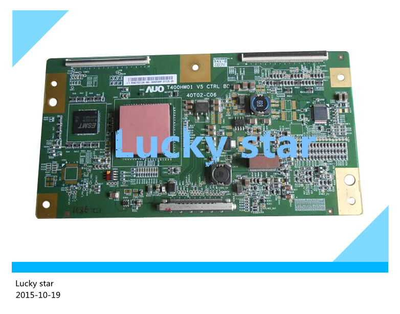 ФОТО 100% tested good working High-quality for original 98% new T400HW01 V5 T400HW01V5 CTRL BD 40T02-C06 T-Con logic board