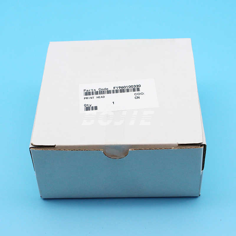 Kedua Kunci Pelarut DX7 F1960010 Printhead Asli untuk EPSON Kepala