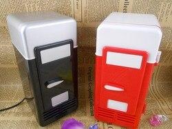 2016USB Mini refrigerador frío y caliente sistema de refrigeración caliente pequeño refrigerador coche kit cosméticos