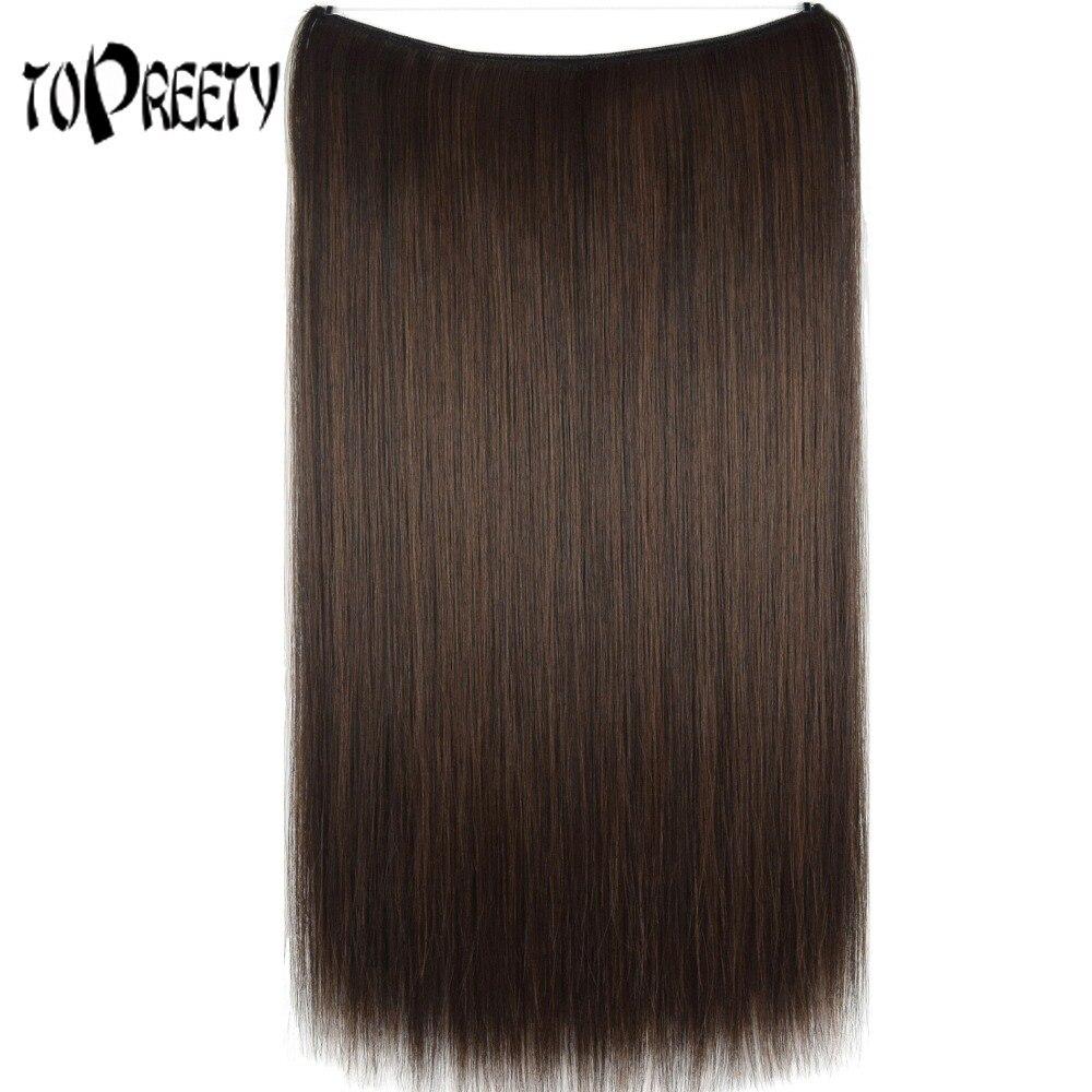 TOPREETY Heat Resistant B5 Synthetic Hair 20