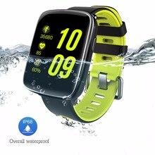 Купить с кэшбэком Kaimorui GV68 Smart Watch Android Waterproof Ip68 Heart Rate Monitor Smart Watches SIM Bluetooth Smartwatch for IOS Android