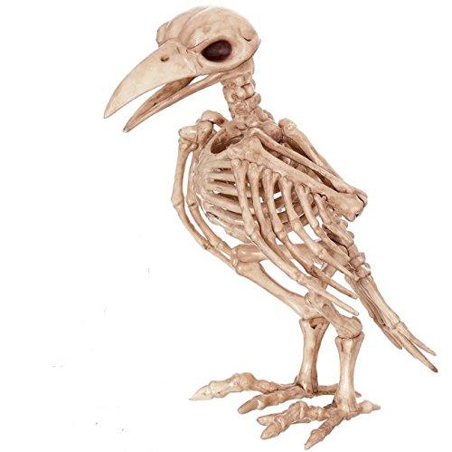 Halloween decorations raven models skeletons skeletons Death crow skeleton model Bone condor frog spider fish snake Owl cat crow haunted house halloween wall tapestry