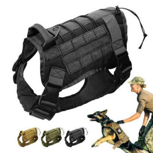 Tactical Police K9 Vest Harness