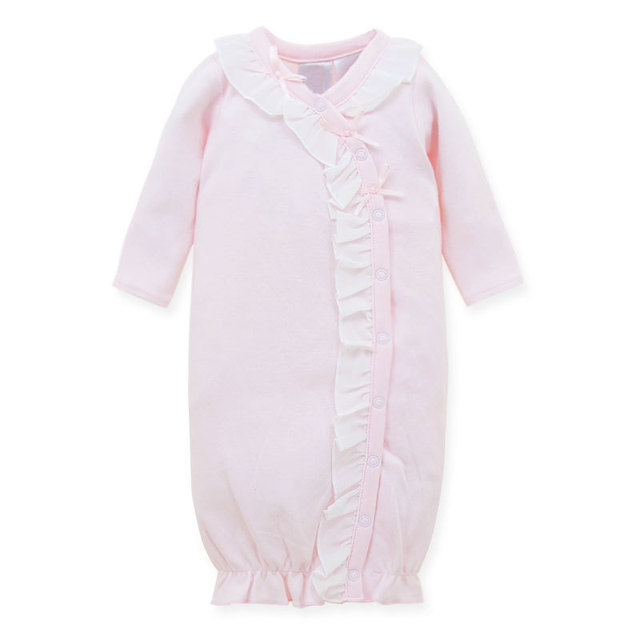 Neonatal cotton sleeping nightgown Baby conjoined pajamas Baby to ...