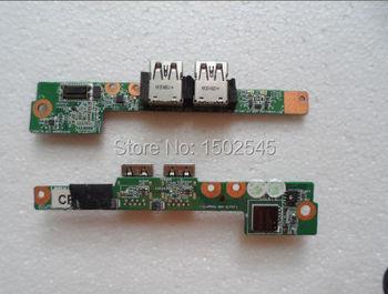 Darmowa wysyłka oryginalny nowy oryginalny laptop płyta interfejsu USB dla HP Pavilion DV4-3000 3010TX 3115TX 3126TX 3125TX 3 0 płyta USB tanie i dobre opinie metoopan FOR HP Lcd zawiasy