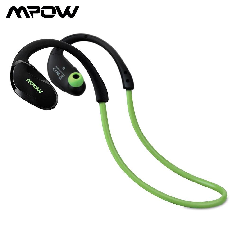 Mpow Cheetah Auriculares estéreo deportes Bluetooth 4.1 para correr cascos deportivos de manos libre, Deportes Auricular con Tecnología aptX Avanzada para iPhone, iPad Samsung y Otros Teléfonos Móviles Android