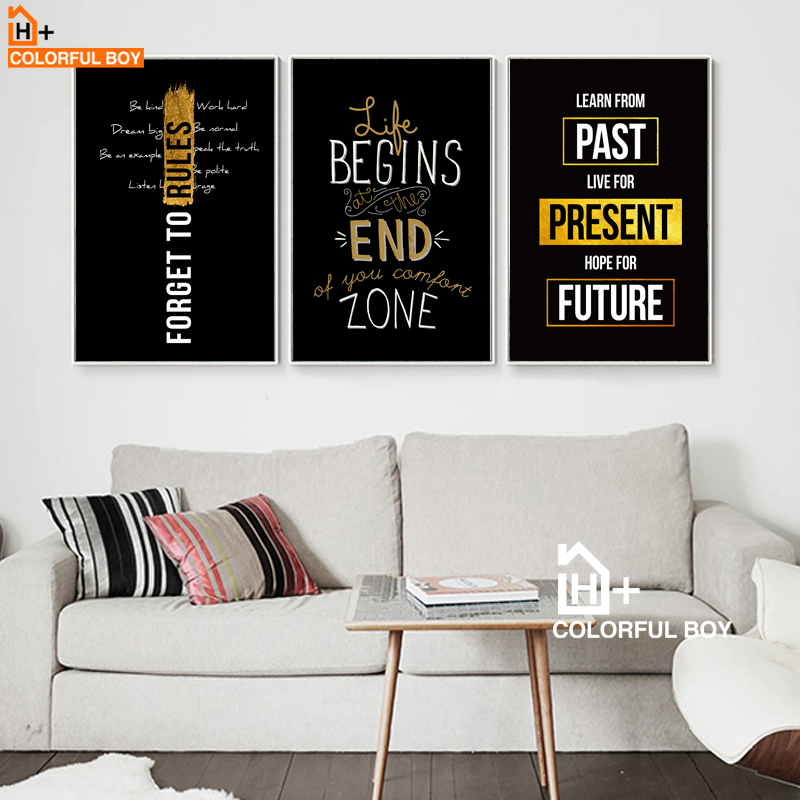 Motivational inspirational quote positive life poster picture print wall art 135