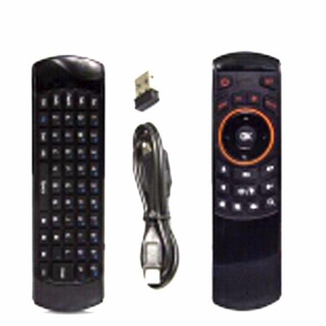 1 шт. Беспроводная Клавиатура Игры Fly Air Mouse Эргономичный Пульт дистанционного управления английский Rii мини i25 2.4 ГГц для Tablet PC Android TV коробка
