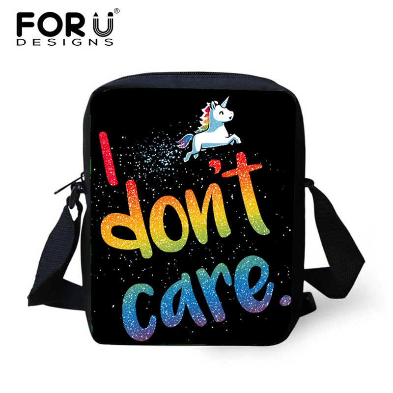 FORUDESIGNS Unicornio Bolsa Cartoon Kindergarten School Bags,Mini Kids Schoolbags Children,Kawaii Boys Girls Book Shoulder Bags
