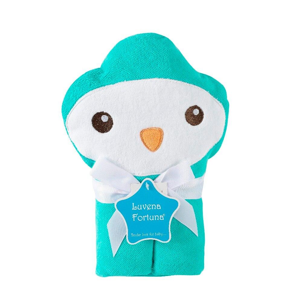 Luvena Fortuna Baby Handdoek 3D Animal Badhanddoek Super Zachte Baby - Beddegoed - Foto 2