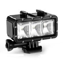 Lightdow ld sjcam подводный gopro hero видео к светодиодные лампы водонепроницаемый