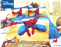 Disney Spider Man Bedding Sets Twin Size Bed Covers For Kids Bedroom Decor Bedspread Boy's Home single Linen twin Sheets hot