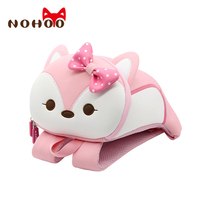 NOHOO Children School Bag Kids Backpack Waterproof Animal Toddler Backpack Baby School Bags for Girls Harness Leash Backpack