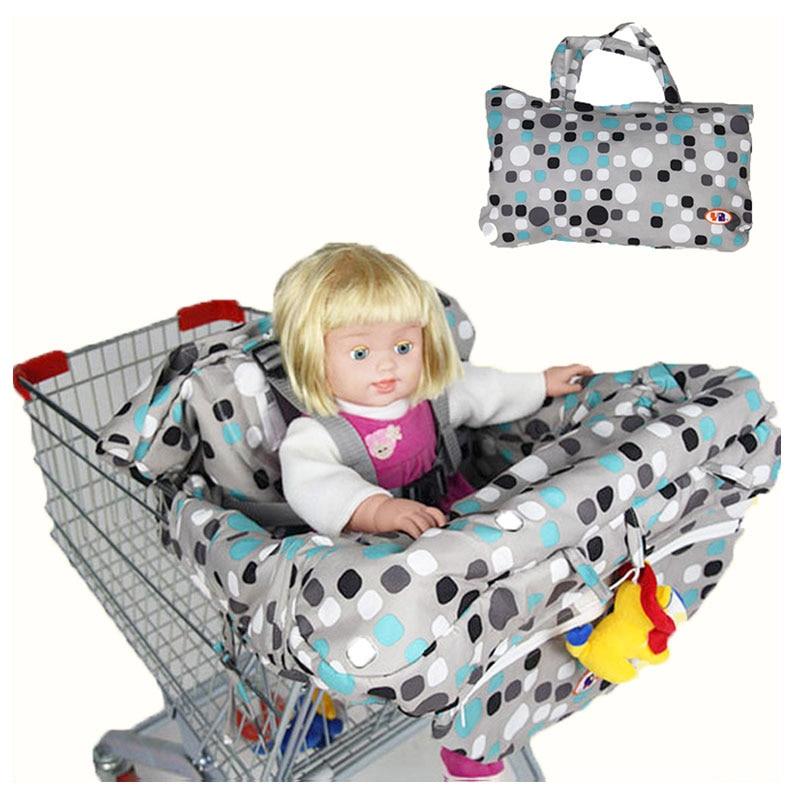 Kinderzitje Voor Op Stoel.Pasgeboren Baby Supermarkt Winkelwagentje Cover Draagbare