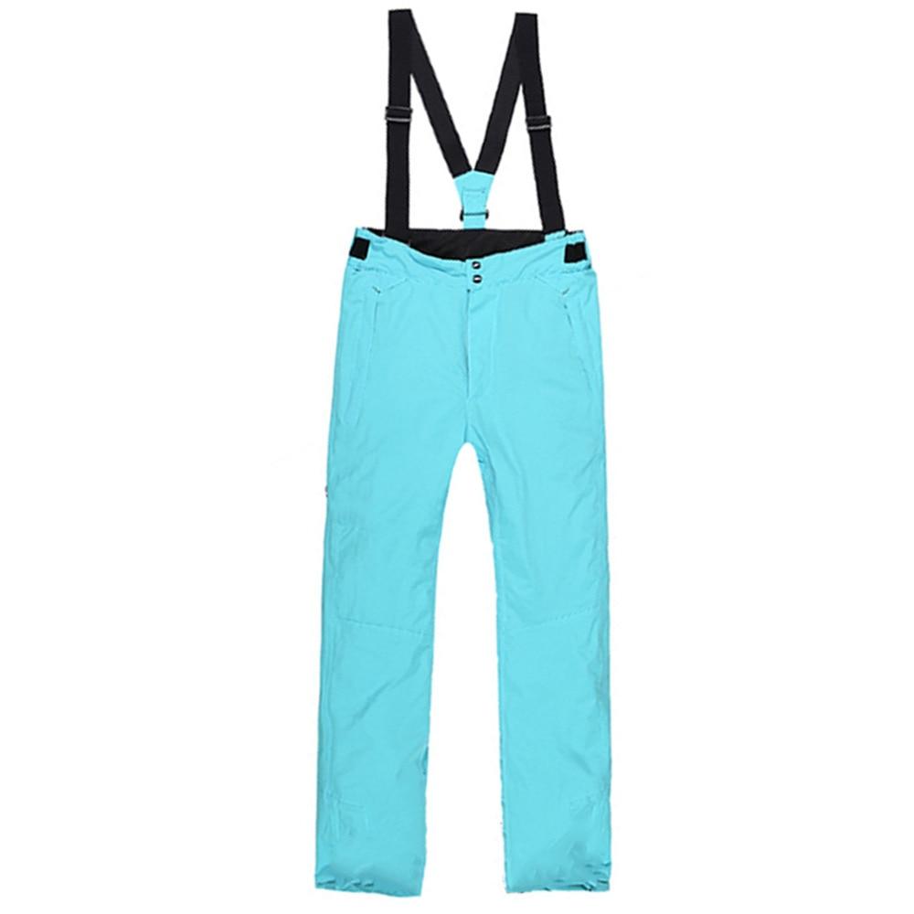 ФОТО Men s Thick Warm Winter Snow Ski Trousers Bib Pants Waterproof Windproof free shipping
