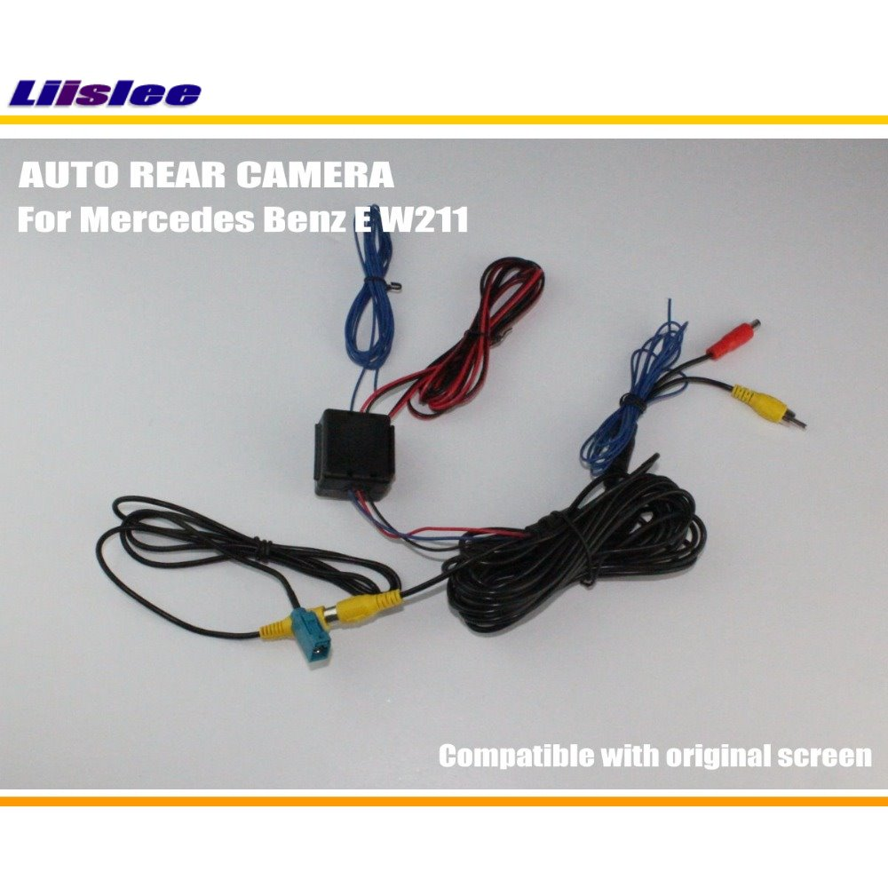 Liislee Car Back Up Reverse Camera For Mercedes Benz E W211 E280 E300 E320  / Rear Parking Camera & Original Screen Compatible-in Vehicle Camera from  ...