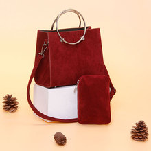 MENGXILU 2018 New Fashion Women Bags Handbags Women Famous Brand Desiner Circle Crossbody Bags For Women Messenger Bags Sac