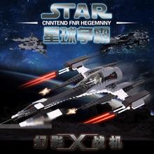 купить 184Pcs Phantom X-fighter Space STAR Fierce Twilight Building Blocks Sets  Wars Bricks Toys for Children по цене 784.03 рублей