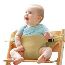 Baby Portable Seat Kids Chair Travel Foldable Washable Infant High Dinning Cover Booster Seat Safety Belt Baby Feeding Chair(China)
