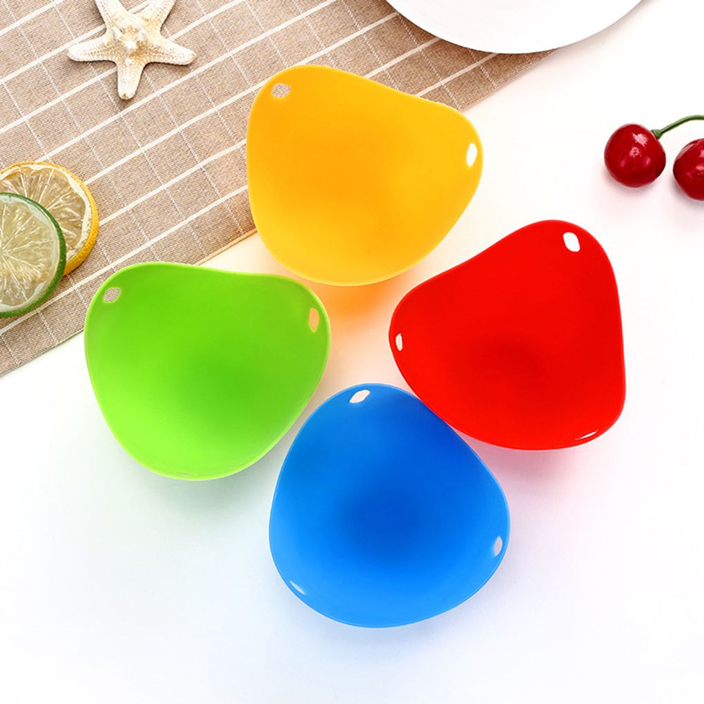WALFOS qualité alimentaire Flexibe Silicone oeuf braconnier cuire Poach Pods