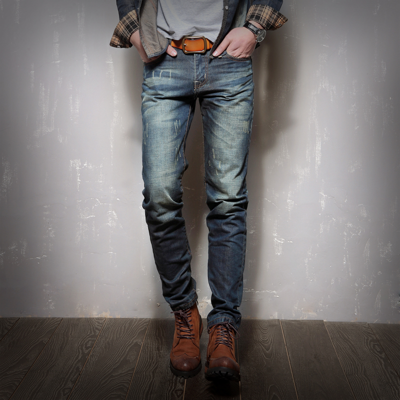 2017 new casual jeans men, Brand Jeans Men Stripe Jeans Male Straight Denim Jeans Slim classic wild male trousers Plus size afs jeep autumn jeans mens straight denim trousers loose plus size 42 cowboy jeans male man clothing men casual botton