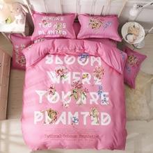 Morpheus Romantic Purple Color 4 Pcs Twin/Full/Queen Size Comforter Set Bedding High Quality Paris Duvet Cover