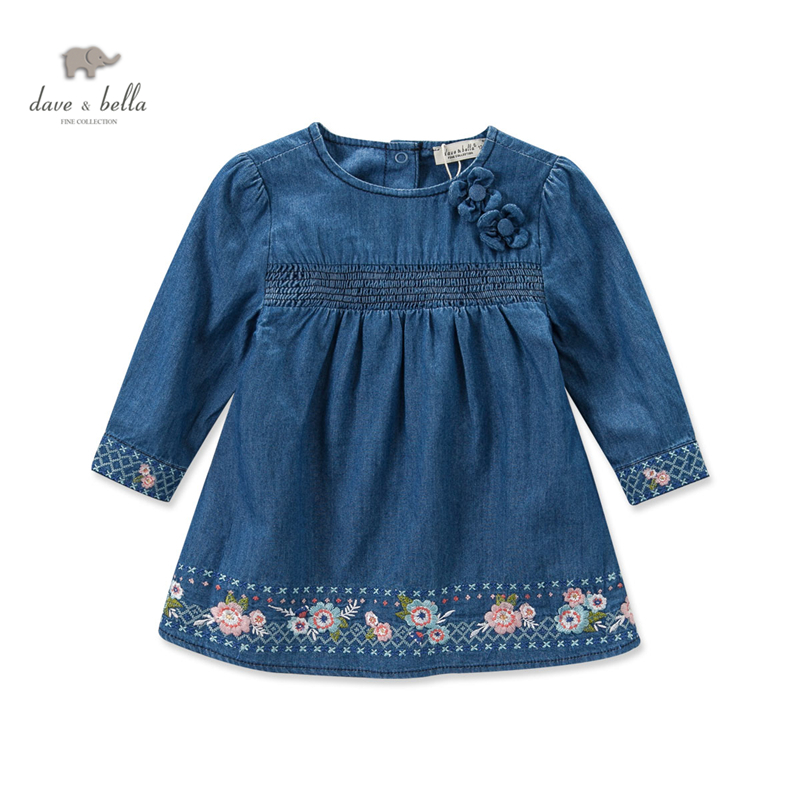 Db dave bella autumn fall baby girl embroidery