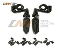Universal 32mm 1 1 4 Engine Guard Mount Kit Foot Peg Case For Harley Honda Kawasaki