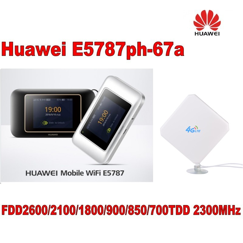 Huawei E5787ph-67a Lte Fdd Bands 1/3/5/7/8/28/(700/850/900/1800/2100/2600 Mhz) Lte Tdd 2300 Mhz Plus 4g Antenne
