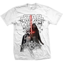 Menss Star Wars Episode VII The Force Awakens New Villains Tshirt Tee Free shipping  Harajuku Tops Fashion free