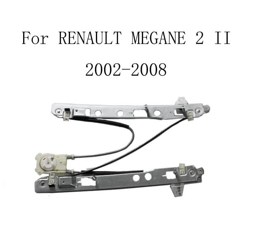 For RENAULT MEGANE II 2 2002-2008 Power Electric Car Window Regulator Window Lifter Replacement Front Right 8200325135 window regulator motor for toyota camry window lifter motor 85720 33120