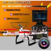 WLtoys V686G RC Drones 2 4G 4 CH Quadcopter With Camera Headless Mode Drone Dron 5