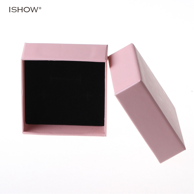 Cute Romantic pink Gift Boxes For Jewelry Packaging Kraft Paper Box